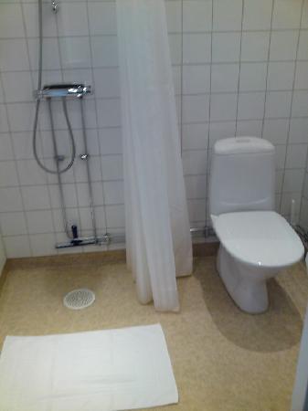 Port Hotel: toilet was clean