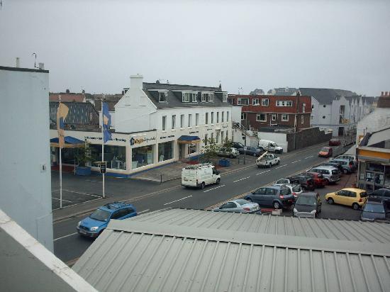 Talana Hotel : view from window Talana Jersey