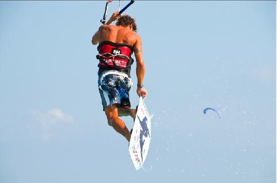 Morph Kiteboarding Maroma Beach: flying