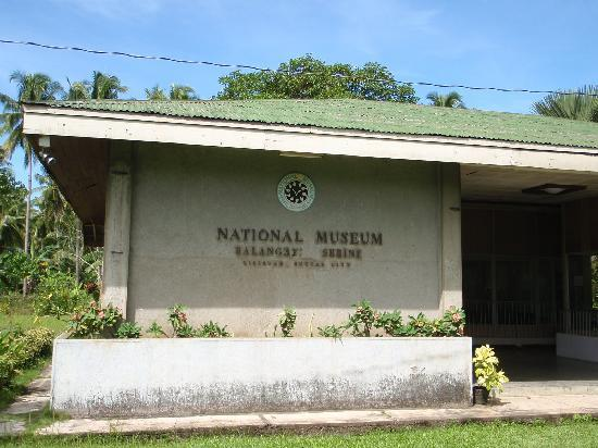 Butuan, Filipiny: facade of the museum
