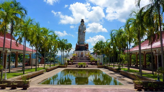 Thap Put, Tailandia: View from the walk to the Goddess of Compassion