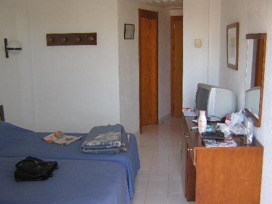 Blue Sea La Pinta: view of room from balcony door