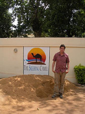 Outside the Sleeping Camel!