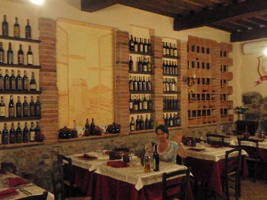 Antica Locanda da Luca: Enjoying my meal!