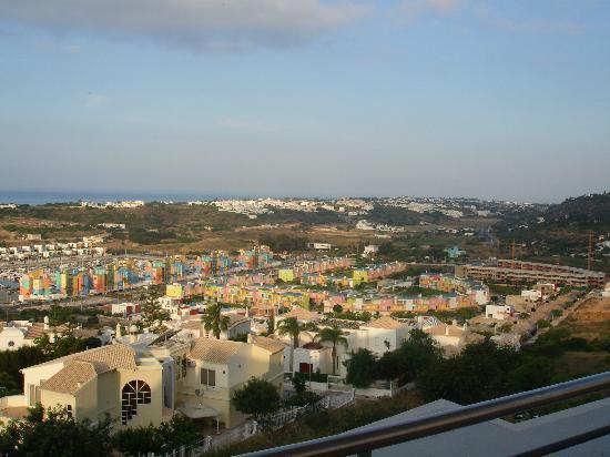 Encosta da Orada: A view from our penthouse balcony.