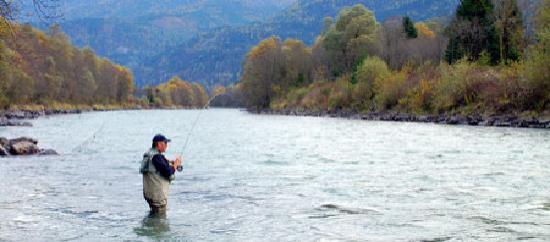 Oberdrauburg, Austria: Fliegenfischen im hauseigenen Revier - 20km in der Oberen Drau - exklusiv für Hausgäste