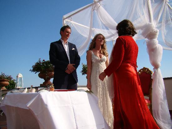 Villa Fiorentino: The ceremony