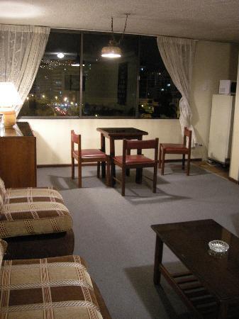 Apart Hotel Amaranta: living comedor
