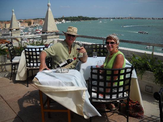 Lunch at the rail of Terrazza Danieli - Picture of Restaurant ...
