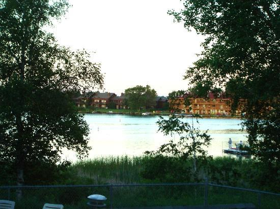 Breezy Point Resort: view from the deck