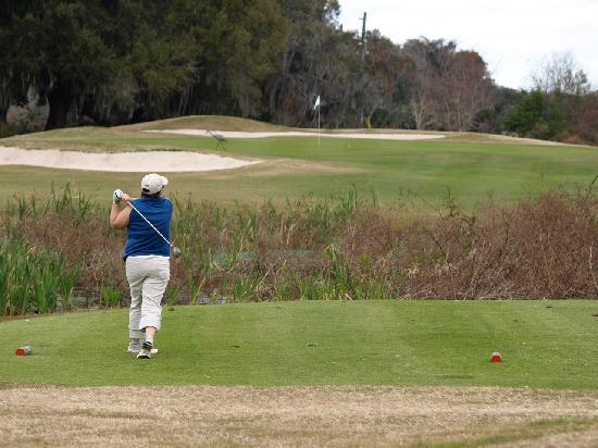 Remington Golf Club: Great winter golfing conditions with well-kept fairways and greens.