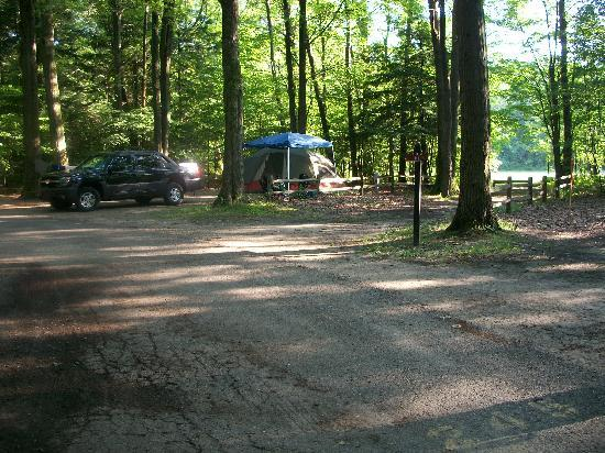 Hoffmaster State Park: campsite