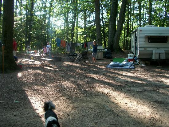 Muskegon, MI: Camp site