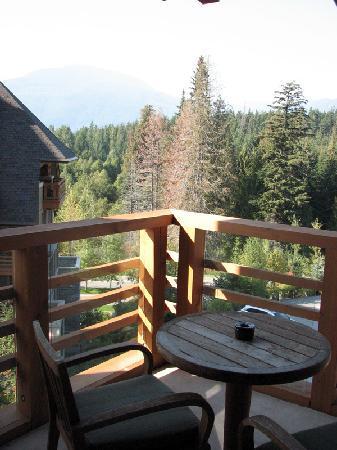 Four Seasons Resort and Residences Whistler: balcony