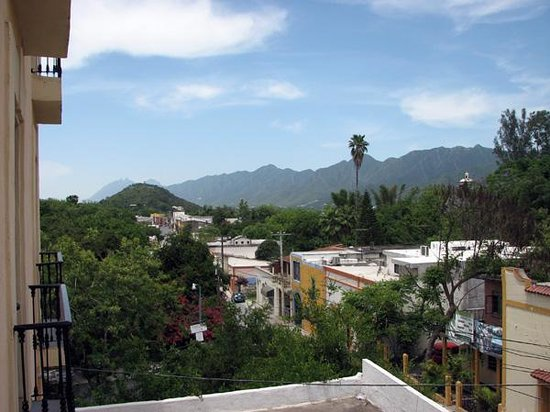 Hotel Las Palomas De Santiago: View to the north from our room