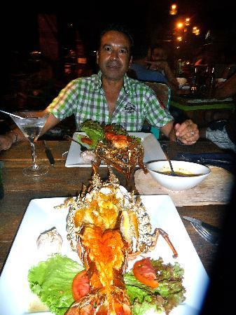 KOKi Beach Restaurant & Bar: Lobste rentree