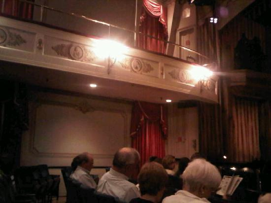 Goodspeed Opera House: Inside the theater