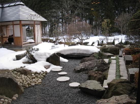 Yusen Shidate: Outdoor Footbath