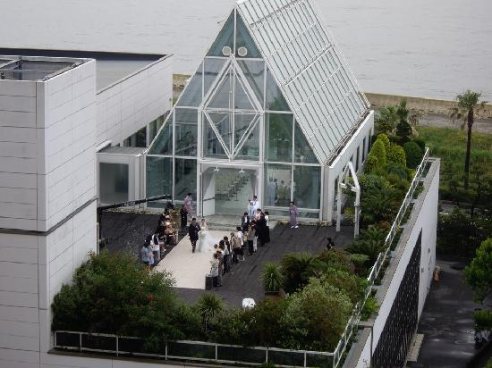 Sheraton Grande Tokyo Bay Hotel : Wedding taking place at the hotel's chappel