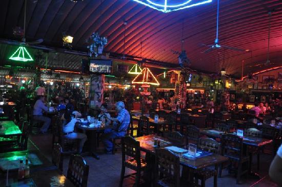 El Patio: The restaurant inside