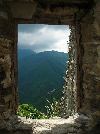 Triora, Italien: dal castello