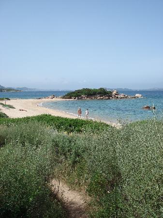 Stelle Marine Hotel & Resort: Strand etwas südlich
