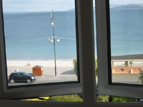 Galway Bay Hotel: Bay view from window of our room