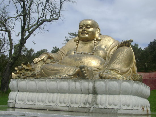 Bombarral, Πορτογαλία: The Golden Laughing Buddha