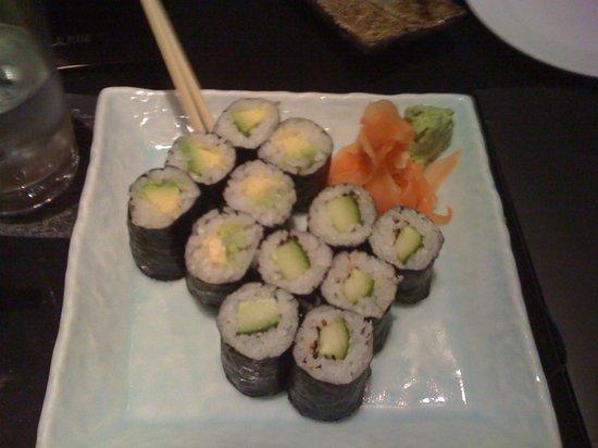 Miyako @ Andaz : Avocado and Cucumber Maki