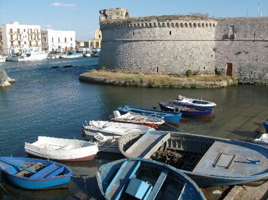 Gallipoli, Italien: Il castello