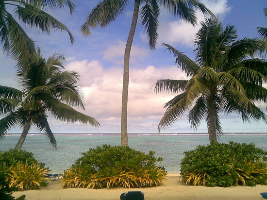 Titikaveka, Cook Islands: spiaggia