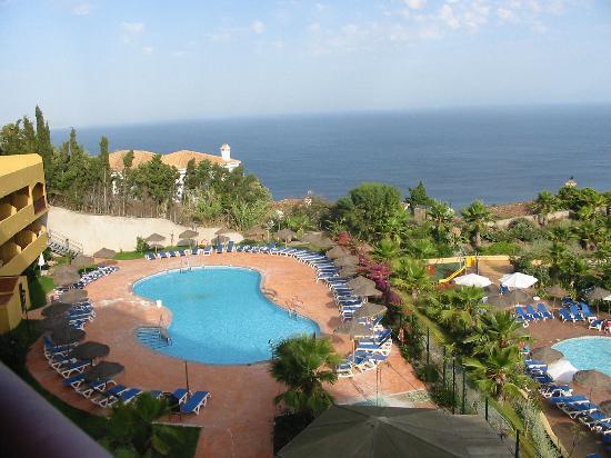 Hotel Best Alcazar: vistas desde la terraza a la izquierda