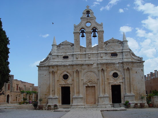 Sacred Monastery of Arkadi: Entrance to the Sacred Monastery