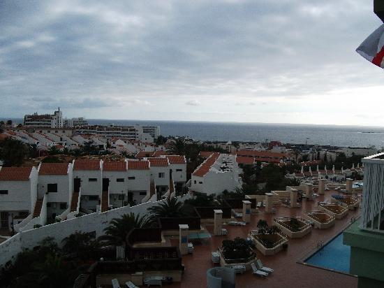 Hotel Villa de Adeje Beach: View from 7th floor balcony