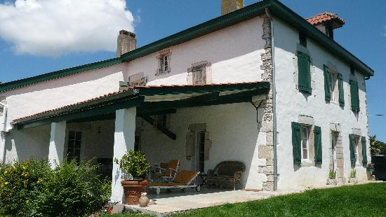 maison Latchueta - terasse