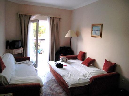 The Living Room 2 Sofa Beds Picture Of Tropicana Beach Hotel Gumbet Tripadvisor