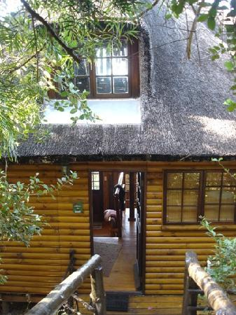Wilderness Bushcamp: Entrance to Cottage No 3