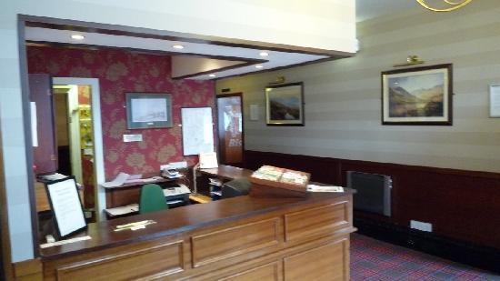 Ben Mhor Hotel: la reception de l'hôtel