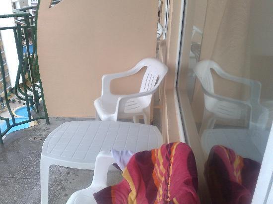 Arda Hotel: nice balcony not