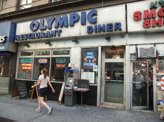 Olympic Diner : exterior