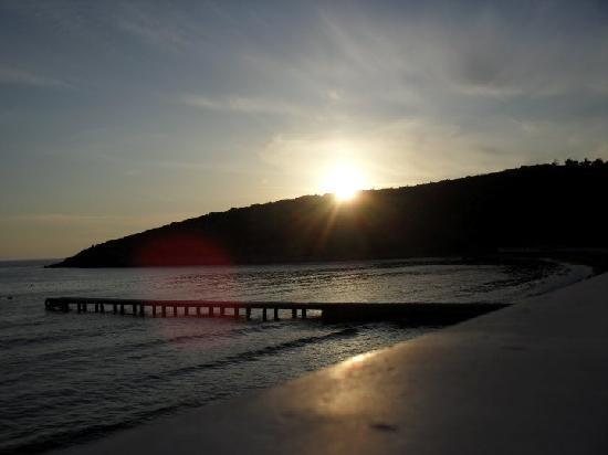 Tusan Beach Resort: view from hotel