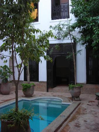 Riad Al Andaluz: piscine