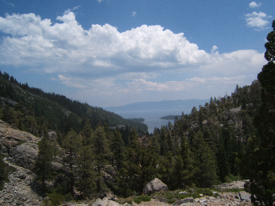 Eagle Lake : VIew of Emerald Bay from Eagle Trail - South Lake Tahoe