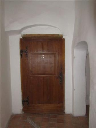 Traveller's Hostel: Front door