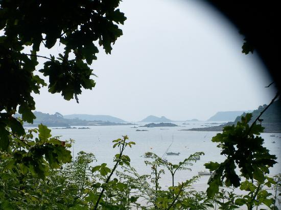 Hotel Le Goelo : Beautiful views across the sea of islands