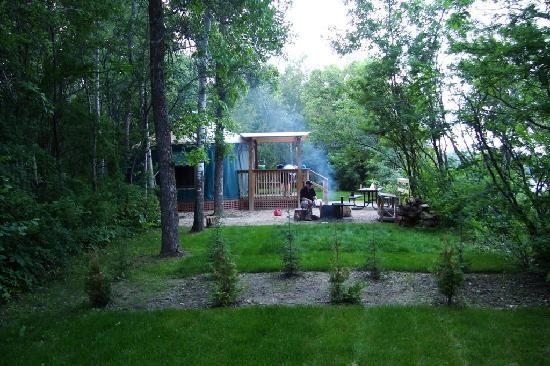 Camp Morton Provincial Park: Tons of privacy