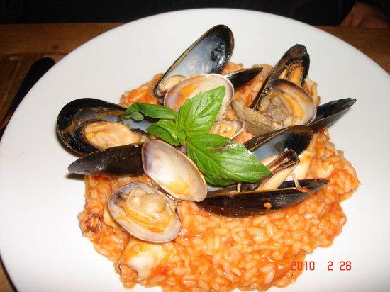 Maria Pia : Seafood Risotto