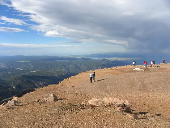 Manitou Springs, CO: At the top of Pike's Peak