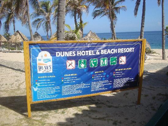 Dunes Hotel & Beach Resort: restaurante de la playa