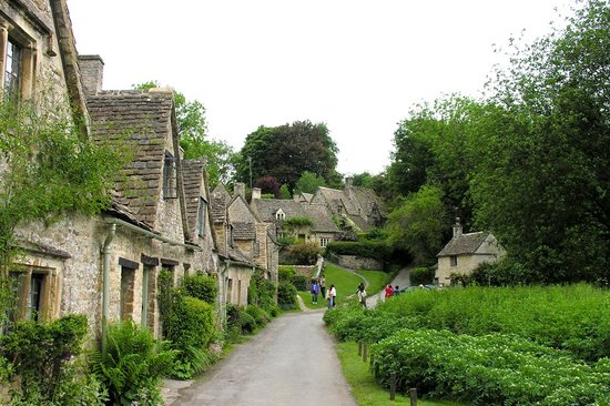 Бат, UK: Bibury - Arlington Row